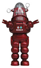 Image: Forbidden Planet Soft Vinyl PX Figure: Robby Robot  (Red) - X Plus