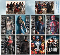 Image: Justice League Movie 48-Piece Magnet Assortment  - Ata Boy