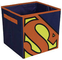 Image: Superman Collapsible Box  - Everything Mary LLC
