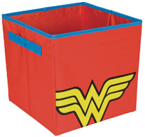 Image: Wonder Woman Collapsible Box  - Everything Mary LLC