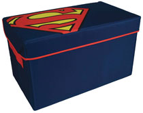 Image: Superman Collapsible Toy Trunk  - Everything Mary LLC