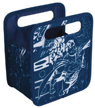 Image: Superman Folding Storage Tote  - Everything Mary LLC