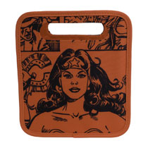 Image: Wonder Woman Folding Storage Tote  - Everything Mary LLC