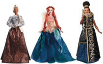Image: A Wrinkle in Time Three Mrs. Barbie Doll Set  (3) - Mattel Toys