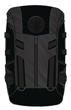 Image: Deadpool Black Tactical Backpack  - Bioworld Merchandising