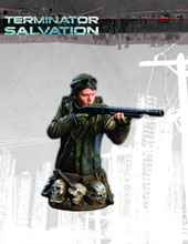 Image: Terminator: Salvation Kyle Reese Bust  -