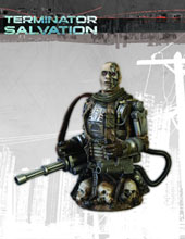 Image: Terminator: Salvation T-600 Bust  -