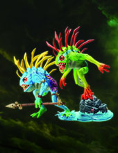 Image: World of Warcraft Action Figure 2-Pack: Fish-Eye & Gibbergill  -