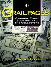 Image: Grailpages: Original Comic Book Art and the Collectors SC  - Twomorrows Publishing