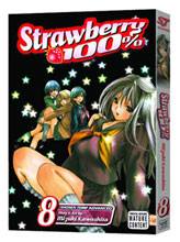 Image: Strawberry 100  Vol. 08 SC  - Viz Media LLC