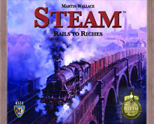 Image: Steam Board Game  - Mayfair Games