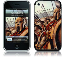 Image: Gelaskins - iPhone: 300 Spartans  -