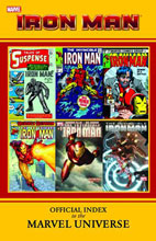 Image: Iron Man: Official Index to the Marvel Universe SC   - Marvel Comics