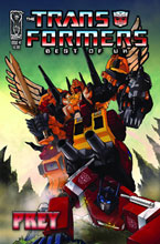 Image: Transformers: Best of the UK - Prey SC  - IDW Publishing