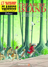 Image: Classics Illustrated Deluxe Vol. 05: Treasure Island SC  - Papercutz