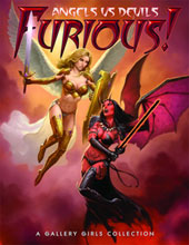 Image: Furious! Angels vs. Devils - A Gallery Girl Collection SC  -