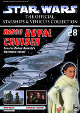 Image: Star Wars Vehicles Collector's Magazine #28 (Naboo Royal Cruiser) -