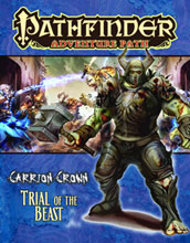 Image: Pathfinder Adventures: Path Carrion Crown #2 - Trial Beast  - Paizo Publishing LLC