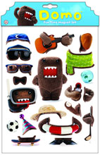 Image: Domo Fun Time Magnet Set  - Dark Horse