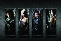 Image: Game of Thrones Magnetic Book Mark Set  - Dark Horse
