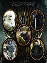 Image: Game of Thrones Magnet Set: Characters  - Dark Horse