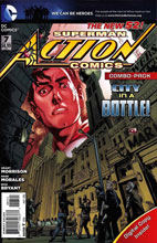 Image: Action Comics #7 (Combo Pack)