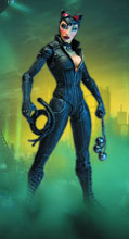 Image: Batman: Arkham City Series 2 Action Figure - Catwoman  - DC Direct