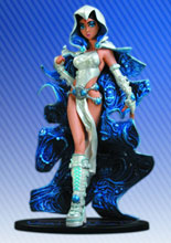 Image: Ame-Comi Heroine Series PVC Statue: Raven  (Angel of Azarath Variant) - DC Direct