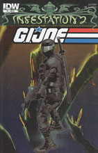 Image: Infestation 2: G.I. Joe #1 (10-copy incentive cover) (v10)