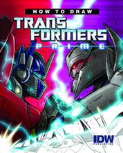 Image: How to Draw Transformers: Prime SC  - IDW Publishing