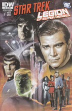 Image: Star Trek / Legion of Superheroes #6 (10-copy incentive cover) (v10) - IDW Publishing