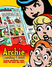 Image: Archie's Sunday Finest Classic Newspaper Strip From the 40's & 50's HC  - IDW Publishing
