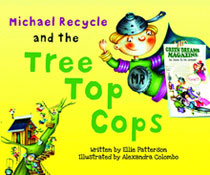 Image: Michael Recycle and the Tree Top Cops HC  - IDW Publishing
