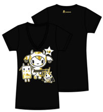 Image: Tokidoki: Golden Moofia Juniors T-Shirt  (M) -
