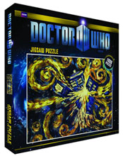 Image: Doctor Who Exploding Tardis Jigsaw Puzzle  (1000-Pieces) -