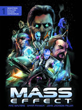 Image: Mass Effect Library Edition Vol. 01 HC  - Dark Horse Comics