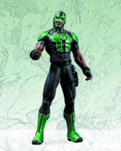 Image: Justice League New 52 Action Figure: Green Lantern - Simon Baz  - DC Comics