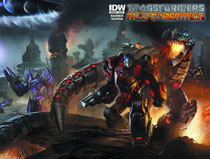 Image: Transformers: Fall of Cybertron #1 (10-copy incentive cover)