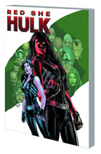 Image: Red She-Hulk Vol. 01: Hell Hath No Fury SC  - Marvel Comics