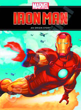 Image: Invincible Iron Man: Origin Story HC  (Young Reader revised edition) - Marvel Press