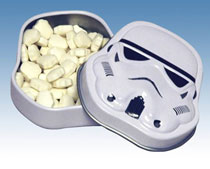 Image: Star Wars: Stormtrooper Tinned Mints 18-Piece Display  - Diamond Select Toys