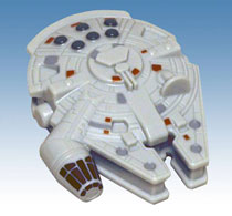 Image: Star Wars: Millennium Falcon Bottle Opener  - Diamond Select Toys