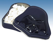 Image: Star Wars: Darth Vader Tinned Mints 18-Piece Display  - Diamond Select Toys