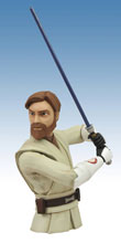 Image: Star Wars: The Clone Wars Vinyl Bank: Obi-Wan  - Diamond Select Toys