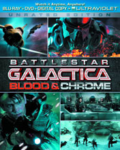 Image: Battlestar Galactica: Blood & Chrome Blu-Ray+DVD  - Sci Fi