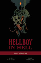 Image: Hellboy in Hell Vol. 01: The Descent SC  - Dark Horse Comics