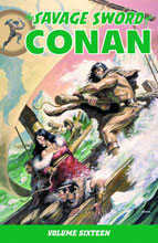 Image: Savage Sword of Conan Vol. 16 SC  - Dark Horse Comics
