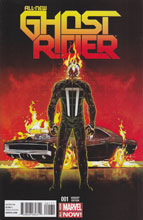 Image: All New Ghost Rider #1 (variant cover - 00171) - Marvel Comics