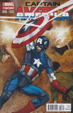 Image: Captain America #18 (variant cover - Fabry) - Marvel Comics