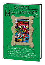 Image: Marvel Masterworks Vol. 207: Captain Marvel Nos. 47-57, etc. HC  - Marvel Comics